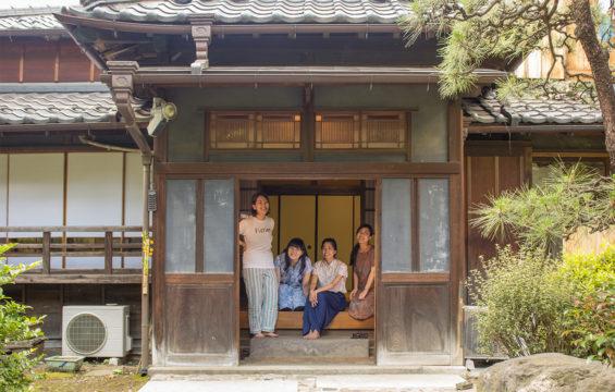 4人姉妹の家びらき・夏